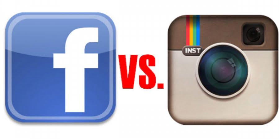 اینستاگرام و فیس بوک