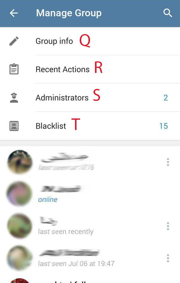 تعیین سطح دسترسی در تلگرام برای ادمین